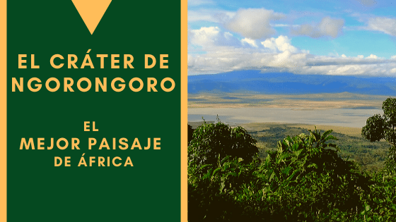El Cráter de Ngorongoro, el mejor paisaje de África