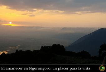Amanecer Ngorongoro