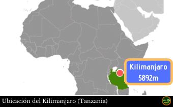 Ubicacion Kilimanjaro